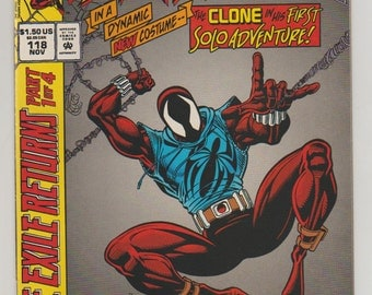Web of Spider-Man; Vol 1, 118,  Modern Age Comic Book.  NM. November 1994.  Marvel Comics