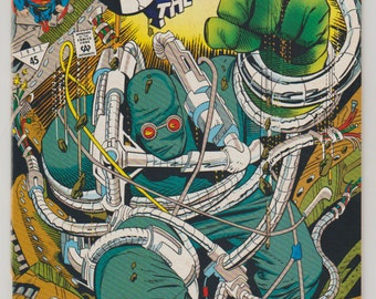 Superman: The Man of Steel; Vol 1, 18 Comic Book (2nd Printing).  NM. December 1992.  DC Comics