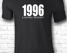 19th birthday gift t shirts 1996 shirts – 19th customized shirts 19th girl tshirts 19th custom 1996 gift idea t shirts boyfriend shirts 167