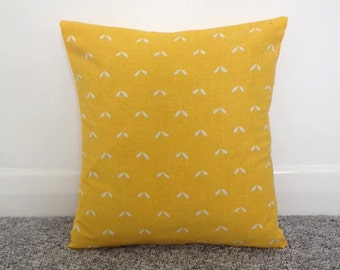 Upcycled 1960s Vintage Fabric Cushion Cover