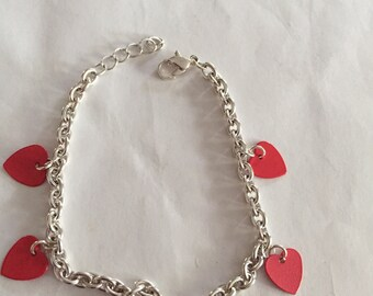 Heart Charm Bracelets!