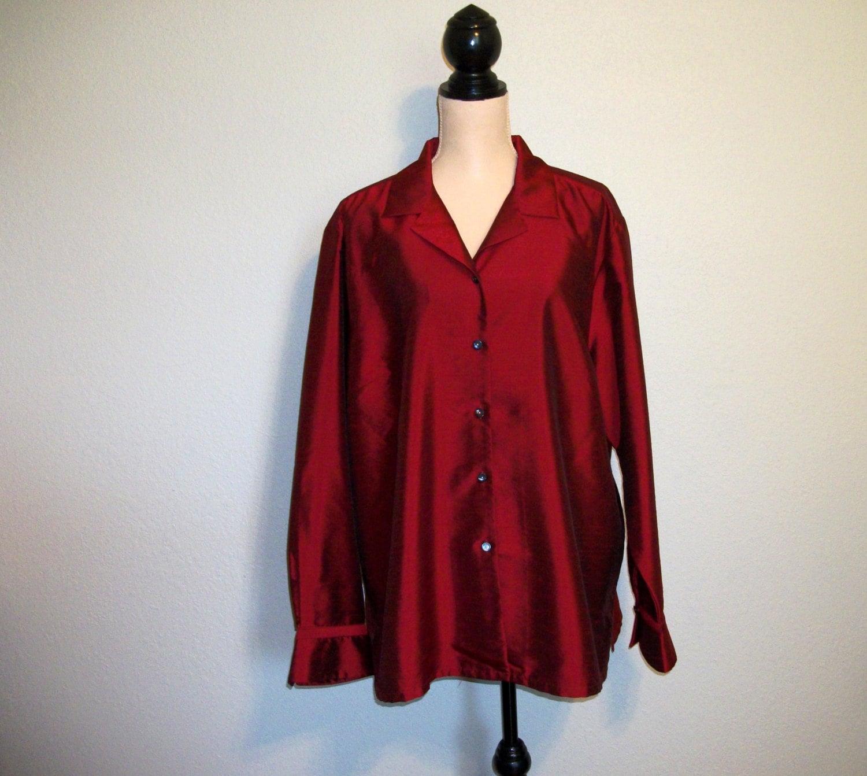 Wonderful Red Tie Wrap Shirt  Fashion  Shirts Amp Blouses  Tops  Womens  Debe