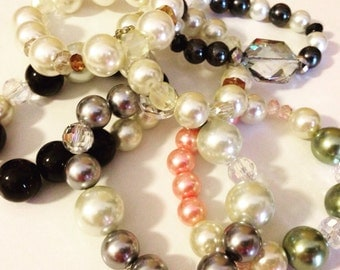 Mermaid pearl bracelets