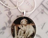 "Apostle Pendant - St James the Lesser with 20"" Sterling Silver Chain - 32mm"