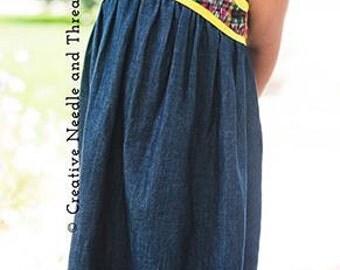 Blue Ridge Dress PDF Sewing Pattern