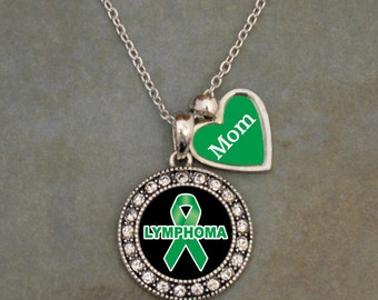 Custom Loved One Lymphoma Awareness Necklace
