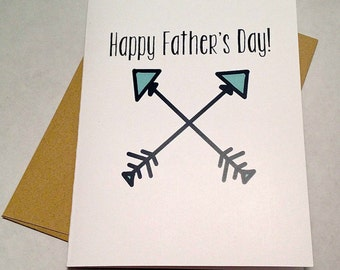 Father's Day Card - Arrows