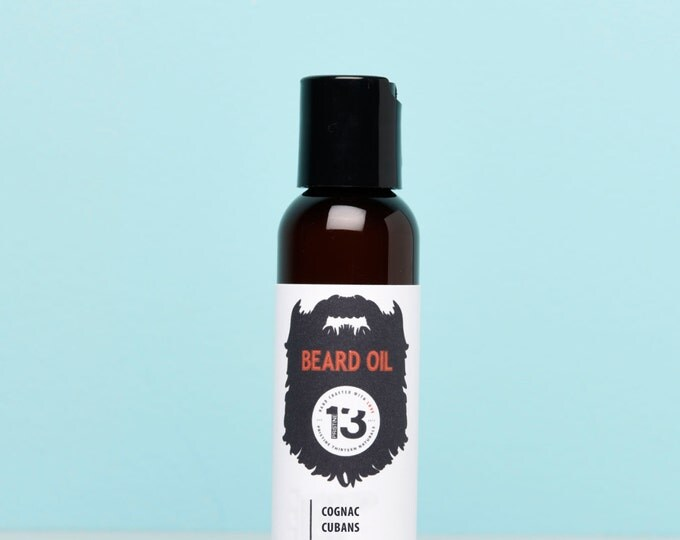 Cognac and Cubans Beard Conditioning Oil