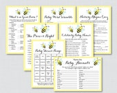 Bumble Bee Baby Shower Ga...