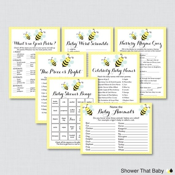 Baby Shower Wiki: Price Is Right Game Template