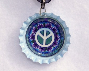 Peace Sign Necklace #7
