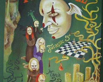 Fiona Apple Warfield 2000 BGP273 Concert Poster fillmore original
