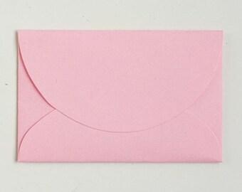 50 pcs Matt Mini Envelopes - Pink Korean Stationery Paper Envelope Wedding Invitation C0081