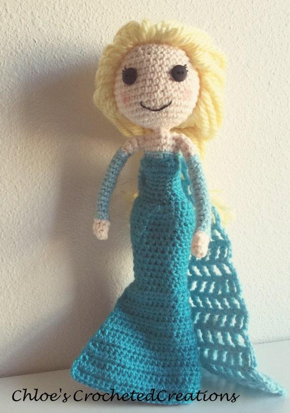 Crochet Elsa Doll : Crochet Frozen Inspired Doll Elsa Doll Crochet by ...