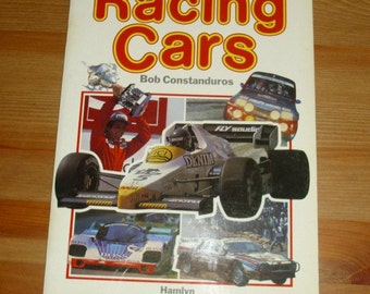 Racing Cars Paperback Book Sport Memorabilia Vintage Collectable By Bob Constanduros Formula One Grand Prix World Championship Motorsports