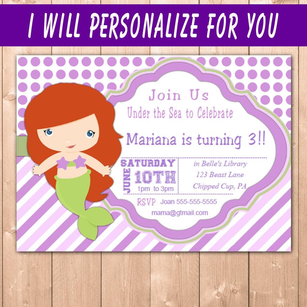 princess invitation – funpartysupply