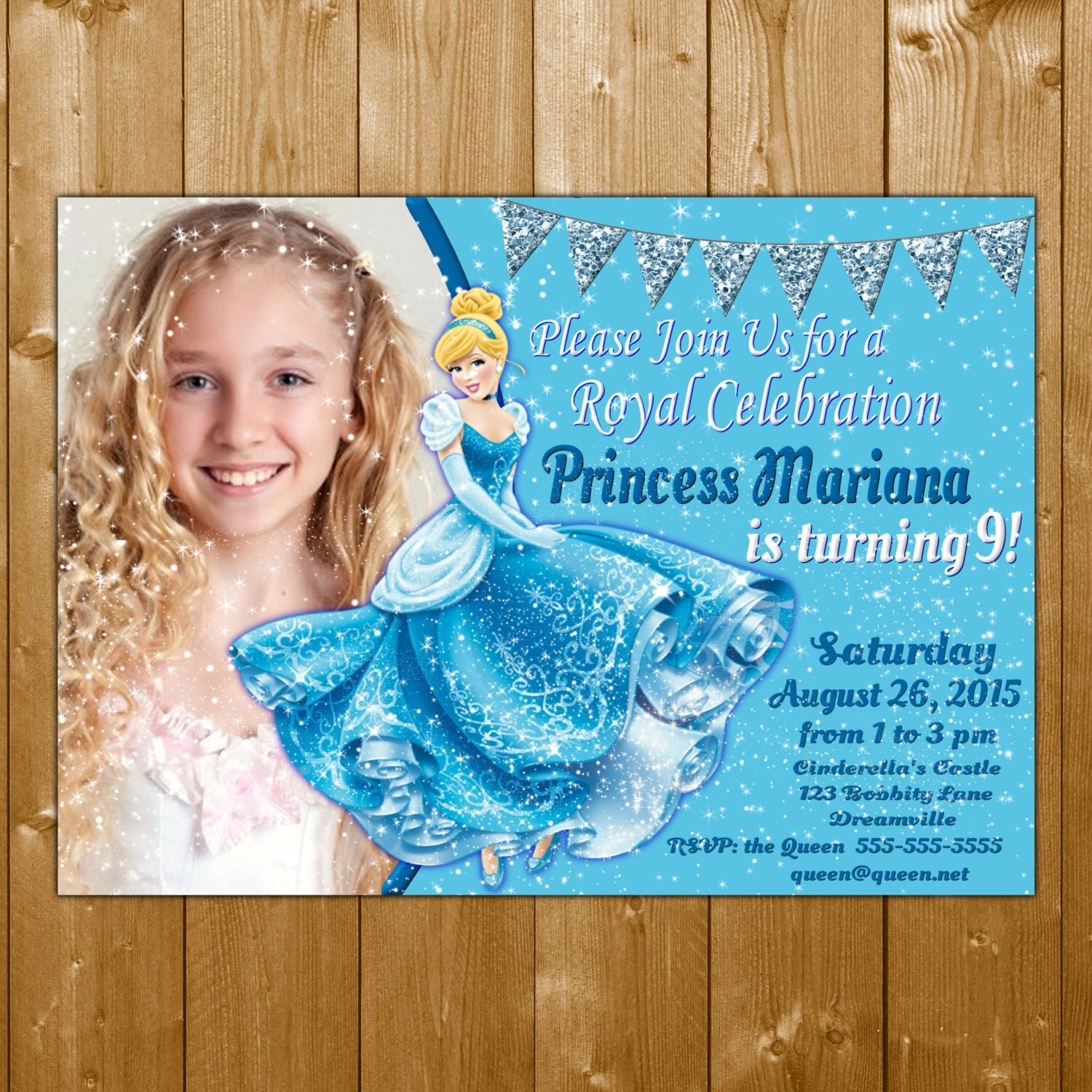 Cinderella Invitation Cinderella Party Invitation Cinderella