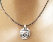 Forbidden Gypsy - Fine Silver Pendant - Necklace - Nomad Fine Silver Pendant - Gypsy Nomad Pendant - Gypsy Rebel Pendant - Free Spirit Charm