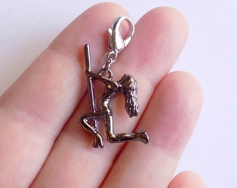Pole Dancer Charm - Pipe Dancer Charm - S0114