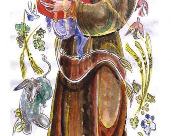 Anthony (Saint) Padua Prayer Card