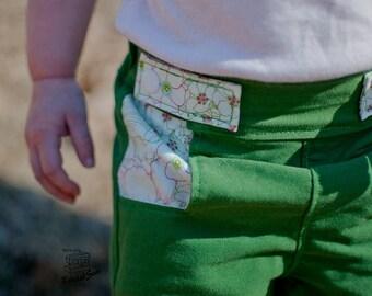 Koda Bek Bermuda Shorts PDF Pattern and tutorial - sizes 3m - 8 Boys and Girls - By Koda Baby