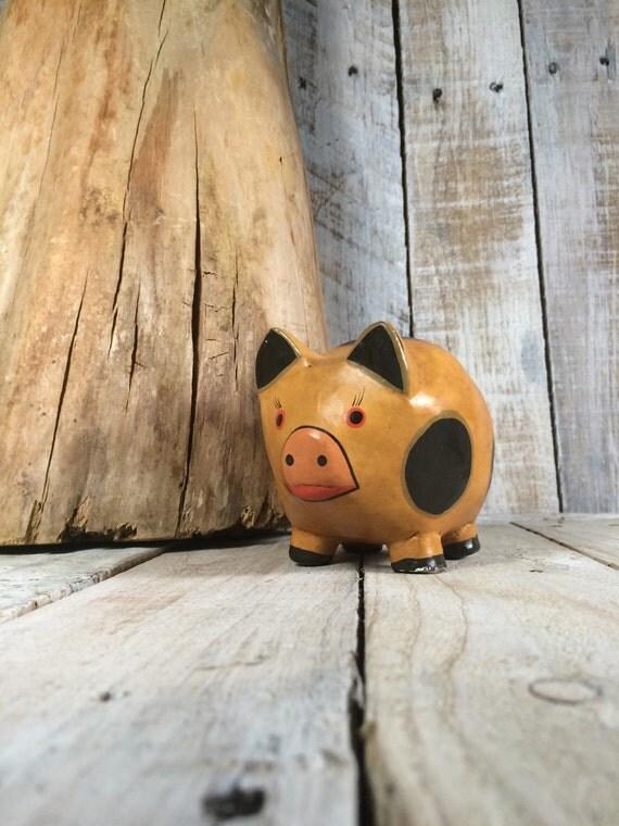 Unique pig decor pig art pig decorations pig home decor for Pig decorations for home