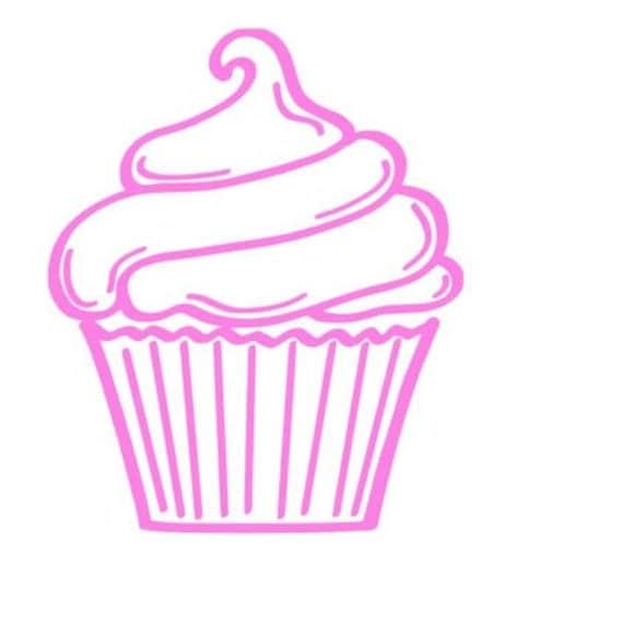 Cupcake Decal Baker Decal Window Decal By Whitneysmonograms
