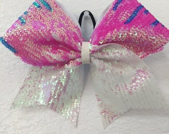 sequin bow or keychain