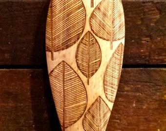 Leaves - Wooden Spoon