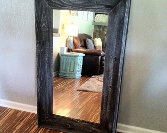 Rustic Home Decor, Reclaimed Wood Mirror, Mirror, Floor Mirror, Wood Mirror, Full Length Mirror, Rustic Mirror, Mirrors, Reclaimed Wood