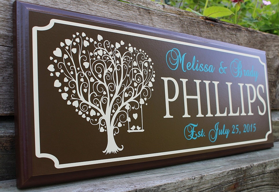 Practical Wedding Gifts For The Newlyweds: Personalized Wedding Sign-gift For Newlyweds-best Friend-gift