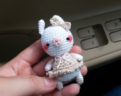 Amigurumi Mini Bunny with ballet dress