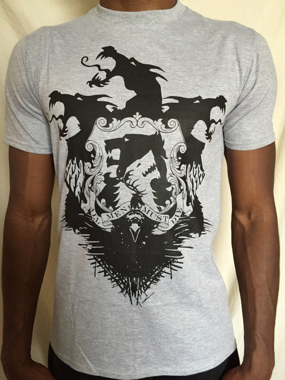 Game Of Thrones Tshirt Valar Morghulis T Shirt T Shirt Game