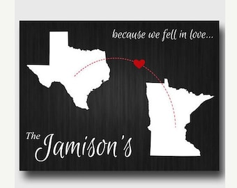 Because We Fell In Love Canvas- 3 colors
