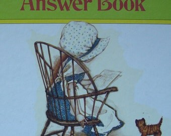 Holly Hobbie's Answer Book - Children's Question and Poem Answer Book