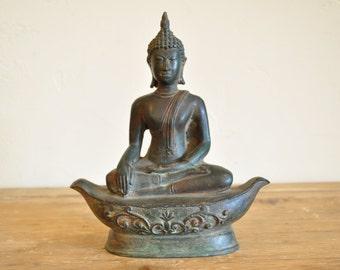 Lanna States Antique Buddha Statue, Thai Buddha Statue, Buddhist Art NEW PRICING!