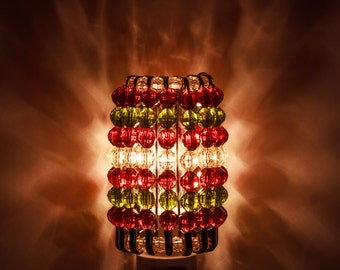 Faceted Beaded Nightlight