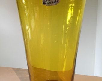 Vintage Blenko Large Vase