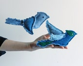 Denim Birds has been featured in Etsy Finds + Look for Summer Issue, Stampington & Co Mag - Upcycle, Recycle, Repurposed, Download Pattern