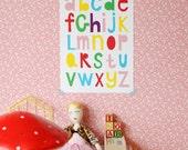 A3 size Poster Alphabet
