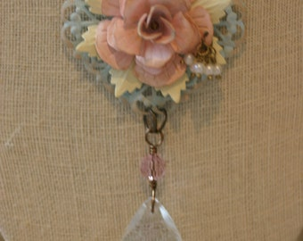 "Shabby Chic ""Natalie"" Necklace"