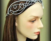 Elven Circlet VALINOR Celtic Hand Wire Wrapped - Choose Your Own COLOR - Crown Tiara