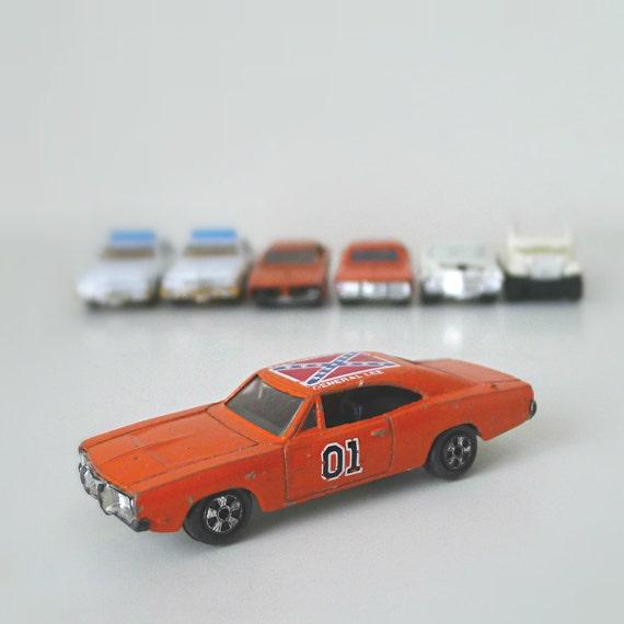 Dukes Of Hazzard Toy Cars Vintage 1980s ERTL General E