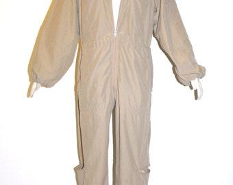 OMO NORMA KAMALI Vintage Camel Pilot Jumpsuit - Authentic -