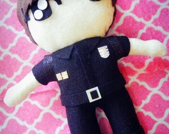 "Kpop BTS Jungkook Bangtan Boys Plushie Plush Toy doll ""Dope"" MV Version"