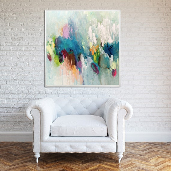 large painting print giclee print of acrylic painting. Black Bedroom Furniture Sets. Home Design Ideas
