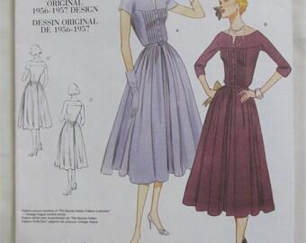"""1956-1957 Re-issued Original Design """"Vogue"""" Pattern (V1044) SZ A (6-8-10)"""