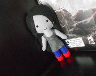 Adventure Time Inspired Plushie (Marceline the Vampire Queen)