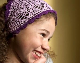 Sofía la primera inspiración Boho Chic hecho a mano del ganchillo velo, accesorios de moda de verano hippie