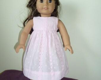 American Girl Doll Eyelet Dress Pattern